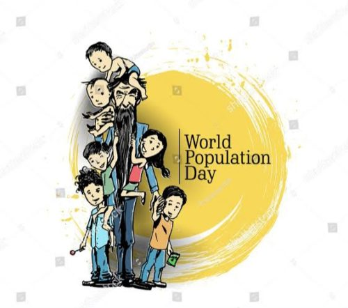 11 July World Population Day images status
