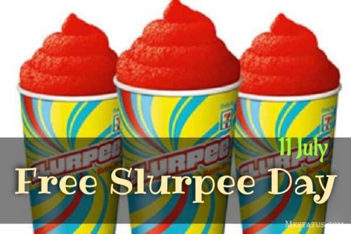 National Free Slurpee Day wishes images