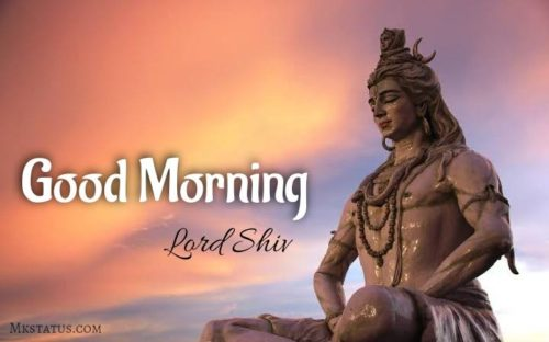 Happy Good Morning lord shiv images for Face book status