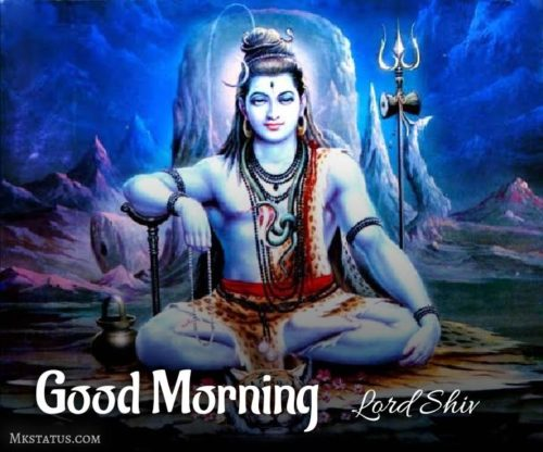 Good Morning Monday Lord Shiv images