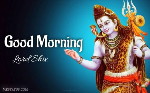 Happy Good Morning lord shiv images for Whatsapp status