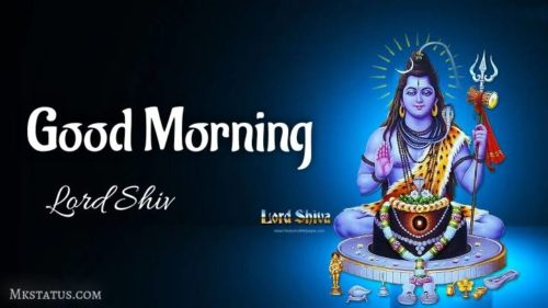 Latest Good Morning Monday Lord Shiv images