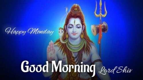 Happy Good Morning lord shiv images