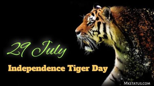 International Tiger Day 2020 wishes images for status