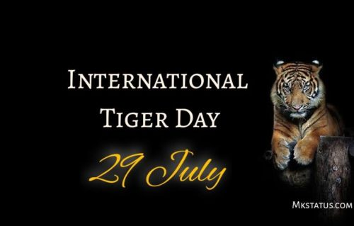 International Tiger Day wishes images