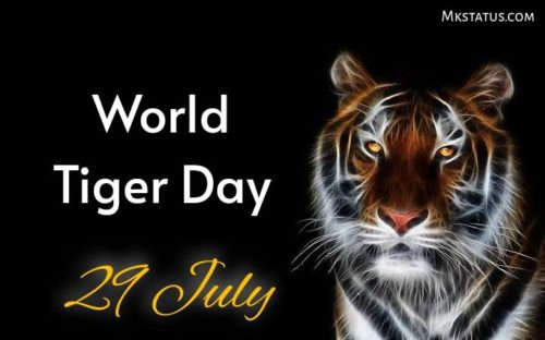 World Tiger Day wishes images