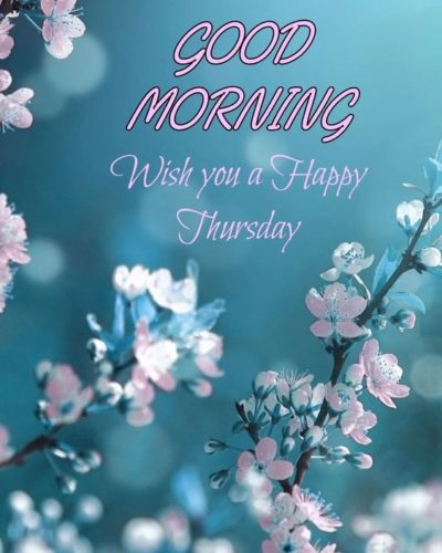 Happy Thursday Good Morning images quotes