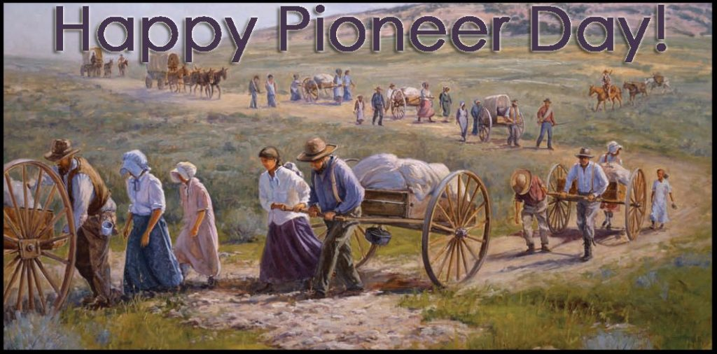 Happy Pioneer Day (Utah) Wishes Images