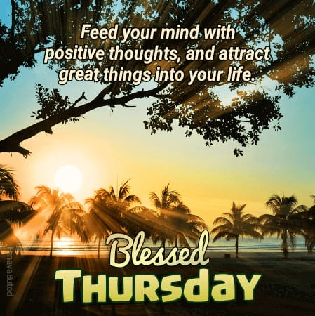 Latest Good Morning Thursday Blessing Quotes Images