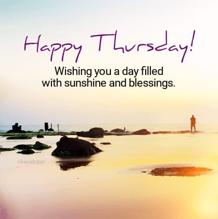 Happy Thursday Blessing Quotes Images