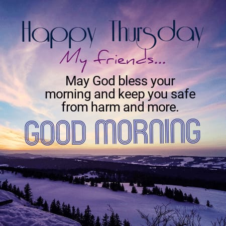 Good Morning Thursday Messages in English Images