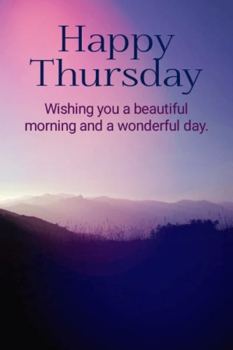 Good Morning Thursday Quotes in English Images