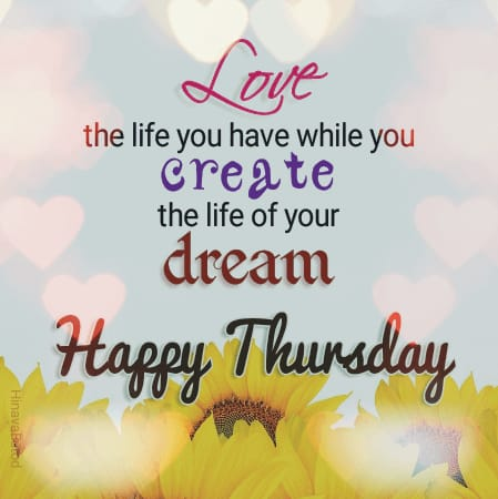 Happy Thursday Quotes Images for status