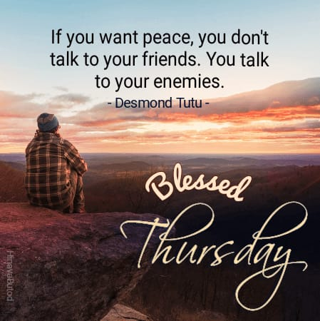 Good Morning Thursday Blessing Quotes Images
