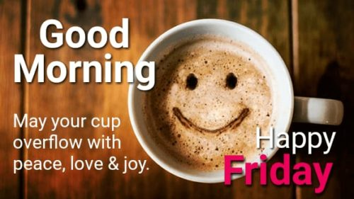 Good Morning Friday Status images
