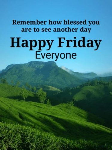 Happy Good Morning Friday Status images