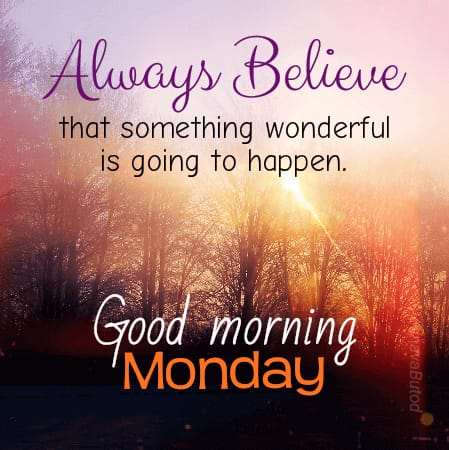 Good Morning Monday wishes quotes status