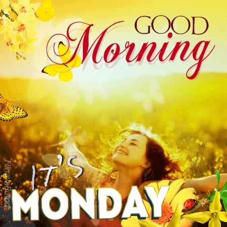 Good Morning Monday Status images