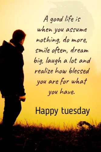 Good Morning Tuesday wishes images with quotes & messages