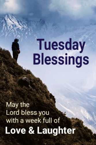 Good Morning Tuesday images with blessing quotes