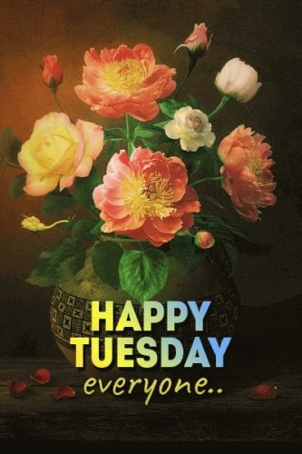 Good Morning Tuesday messages images | Happy Tuesday