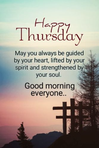 Good Morning Thursday wishes blessing quotes images for status
