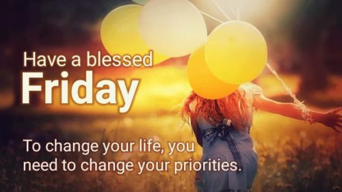 Good Morning Friday Wishes Images with quotes
