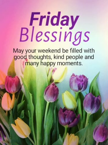 Good Morning Friday Wishes Images with Blessing quotes