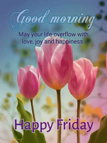Happy Good Morning Friday wishes images