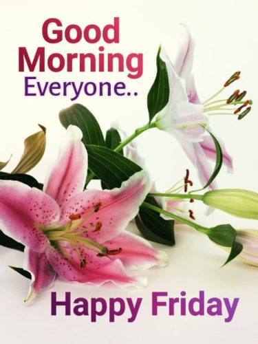 Good Morning Friday wishes photos with quotes for status
