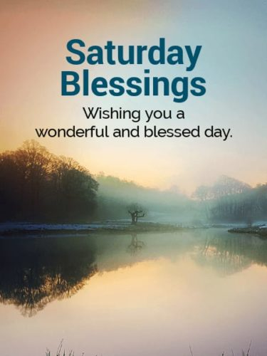Happy Saturday Good Morning Blessing Quotes Images