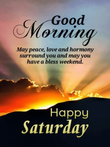 Happy Good morning Saturday wishes messages photos