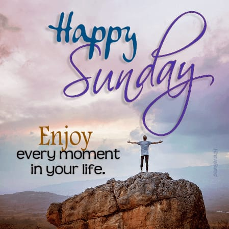Happy Good Morning Sunday Greeting Quotes images
