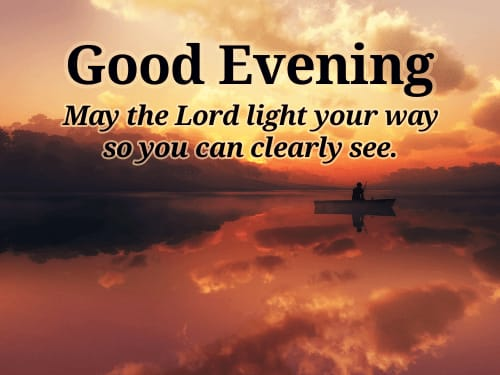 Beautiful Good Evening wishes Quotes images