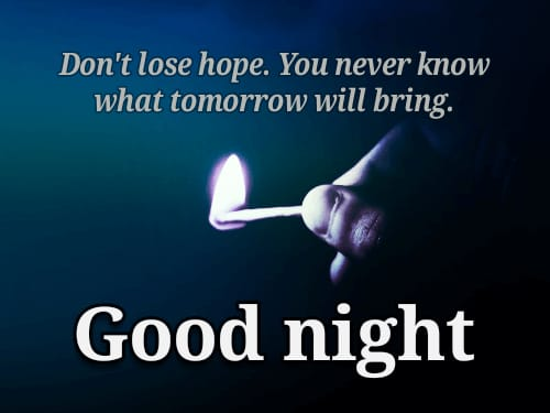 Latest Good Night pictures for status with quotes