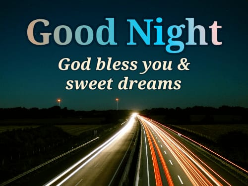 Good Night blessing Quotes in English images