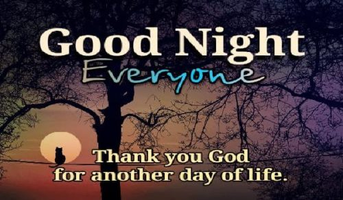 Good Night pictures for status with quotes