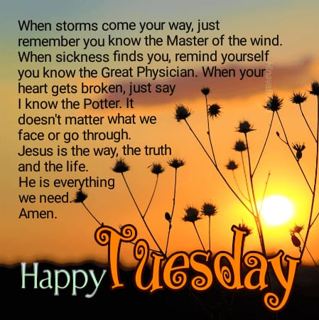 Good morning Tuesday greeting images with messages