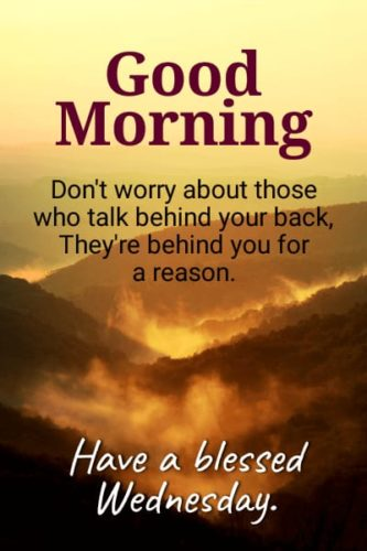 Good Morning Wednesday Inspirational quotes images