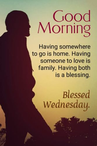 Good Morning Wednesday Blessing quotes images