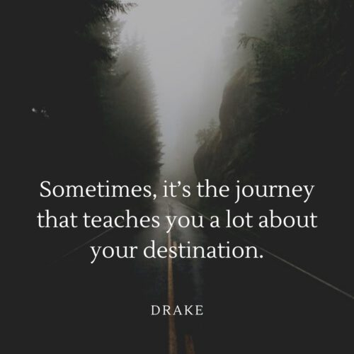Journey Quotes with Status Pictures