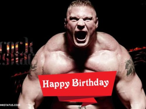 Brock Lesnar Happy Birthday Wishes Images