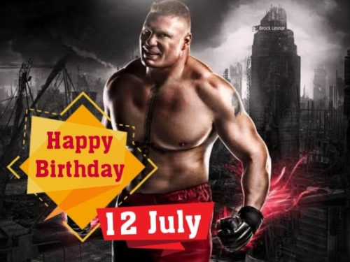 Brock Lesnar Birthday Wishes Images | Happy Birthday Brock lesnar