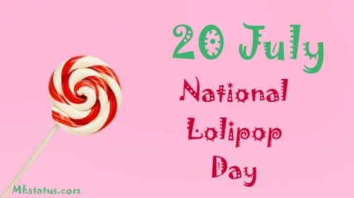 20 July National Lolipop Day  2020 wishes images