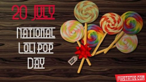 National Lolipop Day  greeting images for free downloads