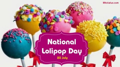 National Lolipop Day  greeting images