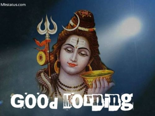 Best Good Morning lord shiv images