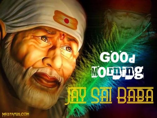 good morning sai baba wishes images for status