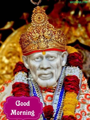 Good morning sai baba images for Face Book status