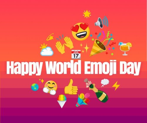 World Emoji Day 2020 wishes images for status